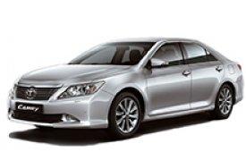 Каркасные шторки на Toyota Camry Седан 2011 - 2015