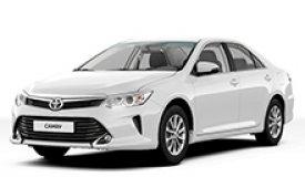 Каркасные шторки на Toyota Camry Седан 2014 - н.в.
