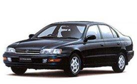 Каркасные шторки на Toyota Carina Седан E правый руль 1992 - 1997