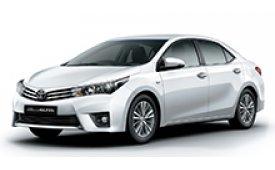Каркасные шторки на Toyota Corolla Седан 2012 - н.в.