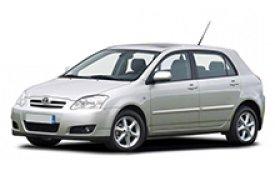 Каркасные шторки на Toyota Corolla Хетчбэк 5 дв. 2000 - 2008