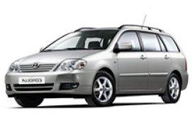 Каркасные шторки на Toyota Corolla Универсал 2000 - 2008