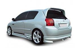 Каркасные шторки на Toyota Corolla Хетчбэк 3 дв. 2004 - 2010