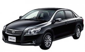 Каркасные шторки на Toyota Corolla Седан Axio 2010 - 2012