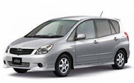Каркасные шторки на Toyota Corolla Минивэн Verso/Corolla Spacio 3G  2004 - 2009