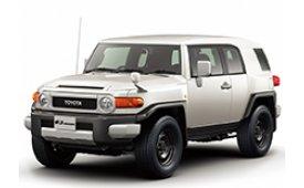 Каркасные шторки на Toyota FJ Cruiser Внедорожник-Кроссовер правый руль 2006 - н.в.