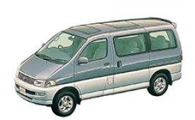 Каркасные шторки на Toyota Hiace  Минивэн Regius 1997 - 1999