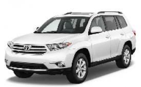 Каркасные шторки на Toyota Highlander Минивэн 2007 - 2013