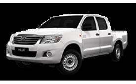 Каркасные шторки на Toyota Hilux  Пикап 2011 - н.в.