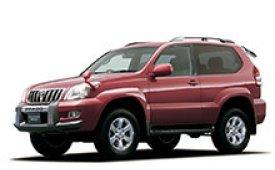 Каркасные шторки на Toyota Land Cruiser Prado Внедорожник-Кроссовер 2002 - 2009
