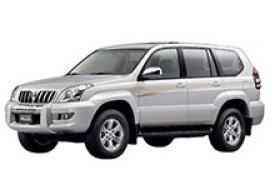 Каркасные шторки на Toyota Land Cruiser Prado Внедорожник-Кроссовер без дворника 2003 - 2009