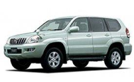 Каркасные шторки на Toyota Land Cruiser Prado Внедорожник-Кроссовер правый руль 2003 - 2009
