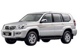 Каркасные шторки на Toyota Land Cruiser Prado Внедорожник-Кроссовер с дворником 2003 - 2009