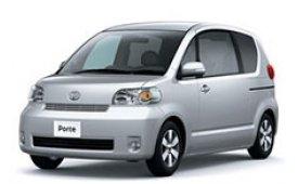 Каркасные шторки на Toyota Porte  Хетчбэк 3 дв. 2004 - 2012