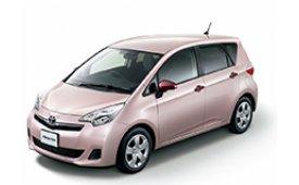 Каркасные шторки на Toyota Ractis Минивэн 2010 - 2014