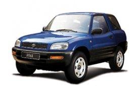 Каркасные шторки на Toyota RAV4 Внедорожник-Кроссовер 1994 - 2000