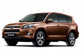 Каркасные шторки на Toyota RAV4 Внедорожник-Кроссовер 2006 - 2012