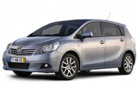 Каркасные шторки на Toyota Verso Минивэн 2010 - н.в.