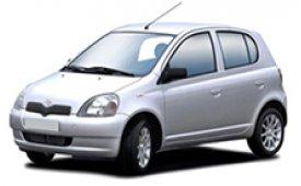 Каркасные шторки на Toyota Vitz Хетчбэк 5 дв. 1999 - 2005
