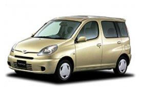 Каркасные шторки на Toyota Yaris Verso Хетчбэк 5 дв. 1999 - 2003
