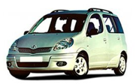Каркасные шторки на Toyota Yaris Verso Хетчбэк 5 дв. 2003 - 2006