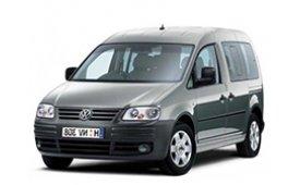 Каркасные шторки на Volkswagen Caddy Минивэн Life 2004 - н.в.