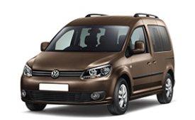 Каркасные шторки на Volkswagen Caddy Минивэн 2004 - н.в.