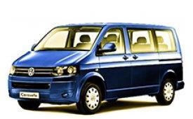 Каркасные шторки на Volkswagen Caravelle Минивэн 2015 - н.в.
