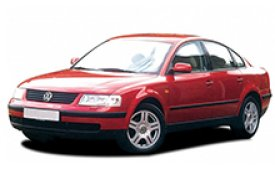 Каркасные шторки на Volkswagen Passat  Седан 1996 - 2005