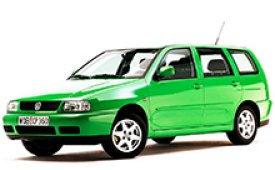 Каркасные шторки на Volkswagen Polo Универсал Variant TYP6N 1997 - 2001