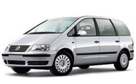Каркасные шторки на Volkswagen Sharan Минивэн с электрическим открыванием 1995 - 2010