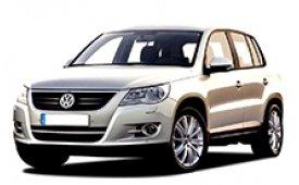 Каркасные шторки на Volkswagen Tiguan Внедорожник-Кроссовер 2008 - 2011