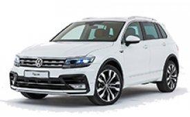 Каркасные шторки на Volkswagen Tiguan Внедорожник-Кроссовер 2016 - н.в.