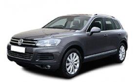 Каркасные шторки на Volkswagen Touareg Внедорожник-Кроссовер 2010 - 2014