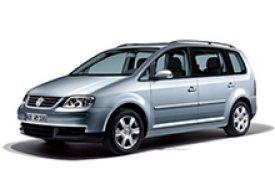 Каркасные шторки на Volkswagen Touran  Минивэн 2003 - 2006