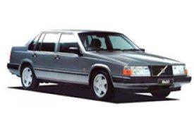 Каркасные шторки на Volvo 940 Седан 1990 - 1998