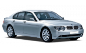 Каркасные шторки на BMW 7er Седан L 2001 - 2008