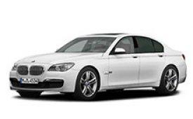 Каркасные шторки на BMW 7er Седан 2009 - 2012