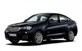 Каркасные шторки на BMW X4 Внедорожник-Кроссовер 2014 - н.в.