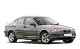 Каркасные шторки на BMW 3er Седан 1998 - 2006