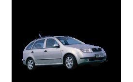 Каркасные шторки на Skoda Fabia Универсал 2000 - 2007