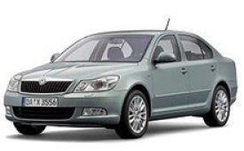 Каркасные шторки на Skoda Octavia Седан A5 (без дворника) 2004 - 2013
