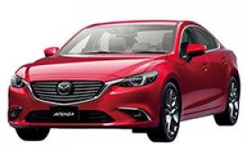 Каркасные шторки на Mazda Atenza Седан 2012 - н.в.