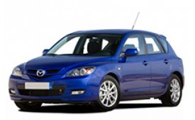 Каркасные шторки на Mazda 3 Хетчбэк 5 дв. BK 2003 - 2009