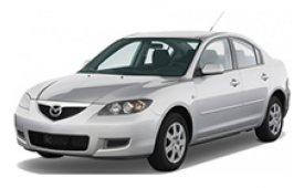 Каркасные шторки на Mazda 3 Седан BK 2003 - 2009