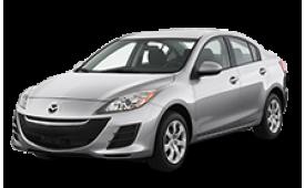Каркасные шторки на Mazda 3 Седан BL 2008 - 2013