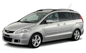 Каркасные шторки на Mazda 5 Минивэн CR 2004 - 2011