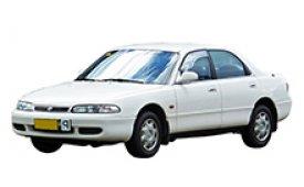 Каркасные шторки на Mazda 626 Седан GE 1992 - 1997