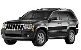 Каркасные шторки на Jeep Grand Cherokee Внедорожник-Кроссовер WK 2004 - 2010