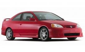 Каркасные шторки на Honda Civic Хетчбэк 3 дв. Купэ 2000 - 2006